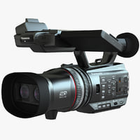 3d model panasonic hdc z10000 hd