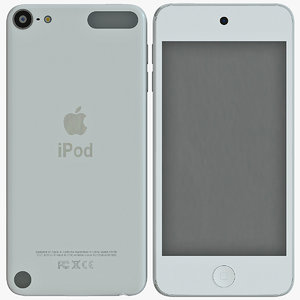 generation ipod touch 3d max
