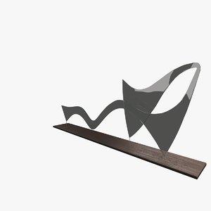 3ds max sculpture floor wood