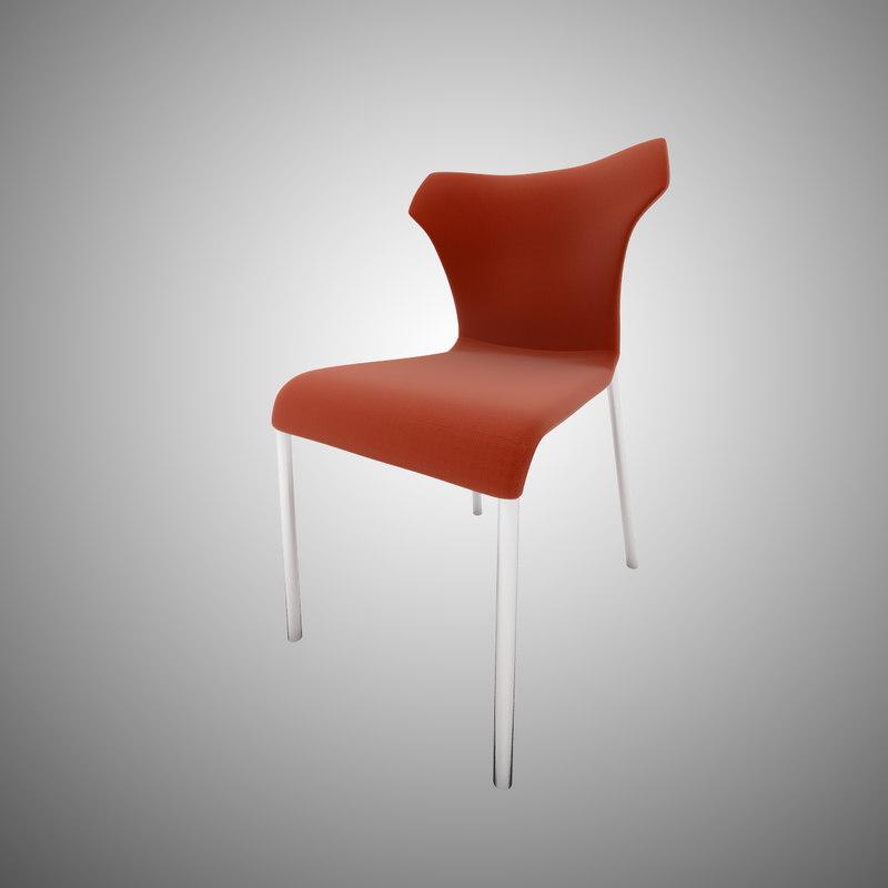3d chair b papilio