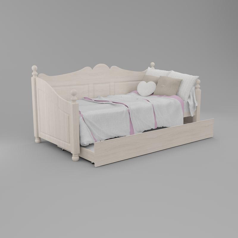 max cinderella bed interior