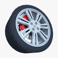 3ds honda alloy wheel