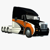3d model t2000 truck tridrive
