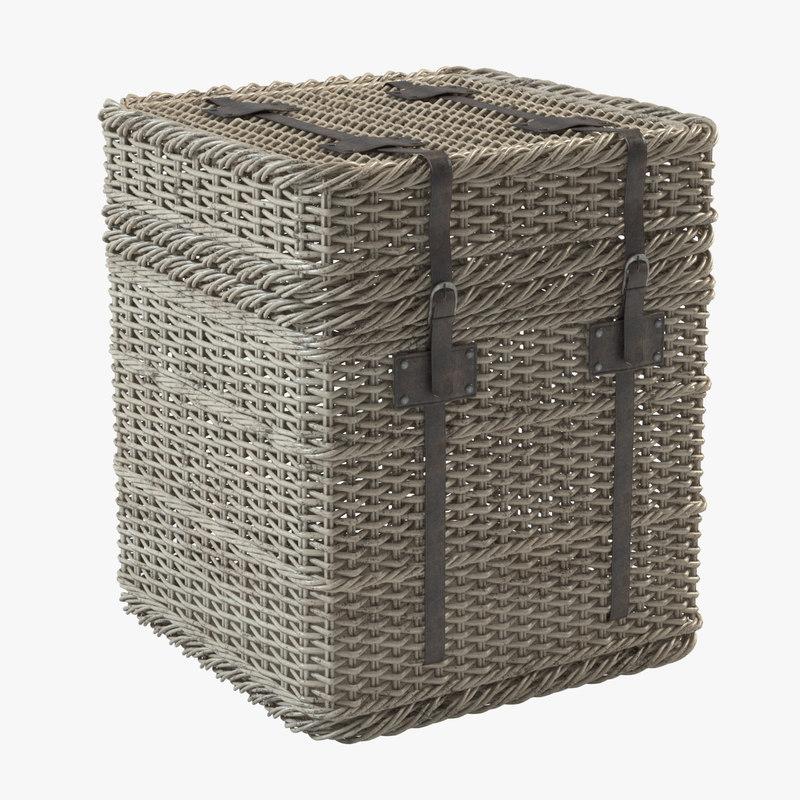 3d model basket new england