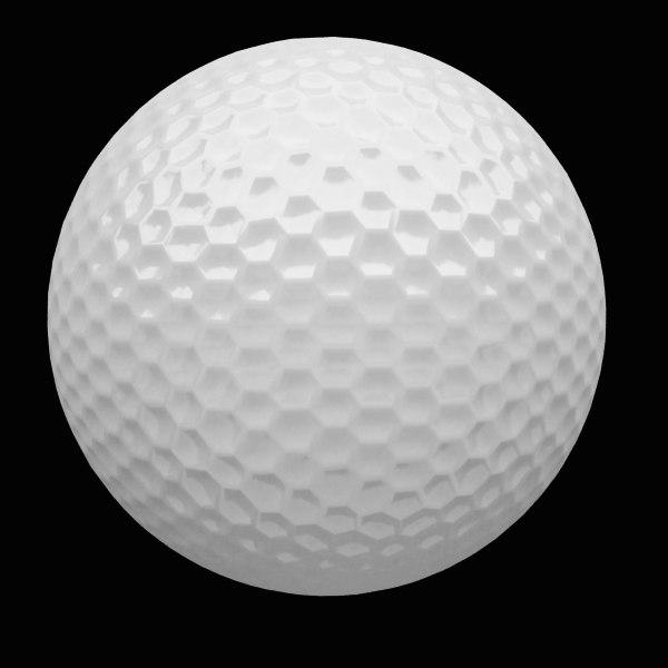 golf boal 3d max