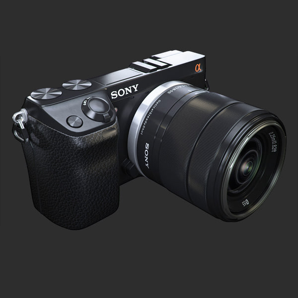 3ds max camera sony nex-7