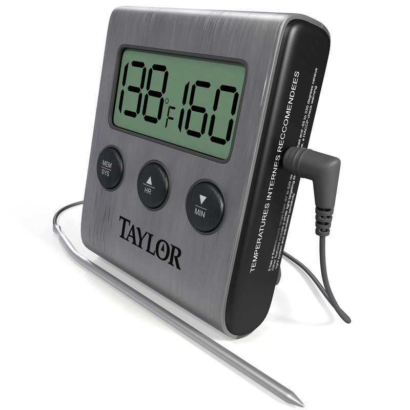 3d digital cooking thermometer taylor