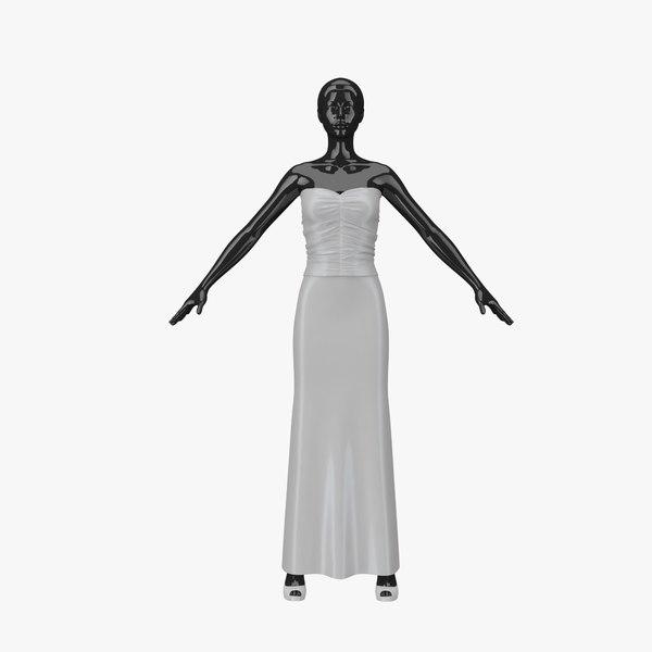 3d model showroom mannequin 026