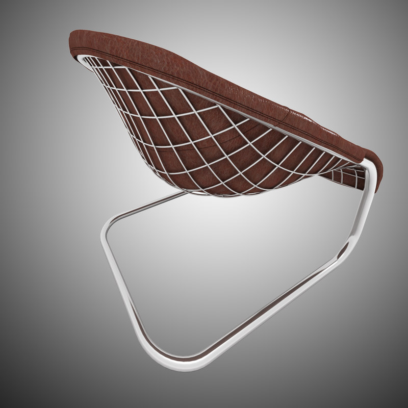 3d minotti cortina armchair chair