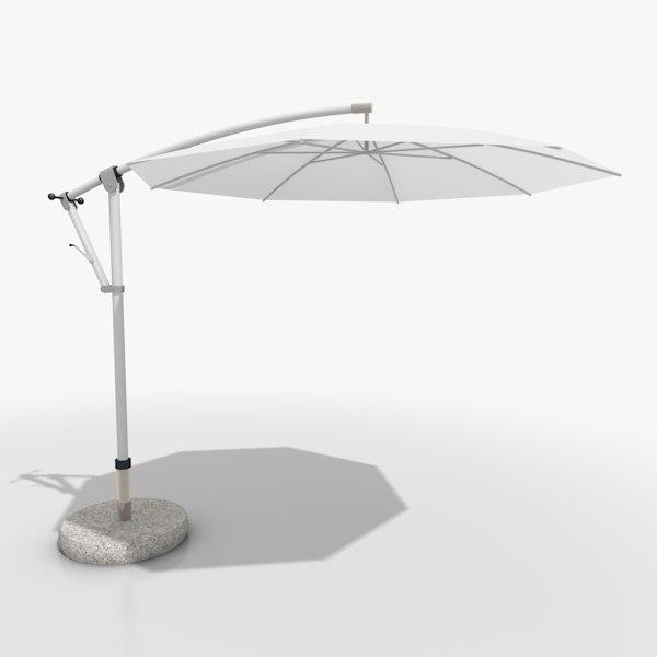 3ds max parasol shade