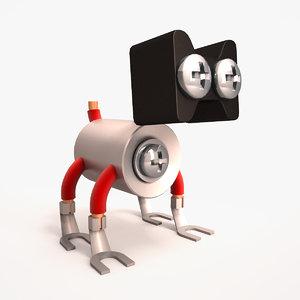 3ds max pet robot