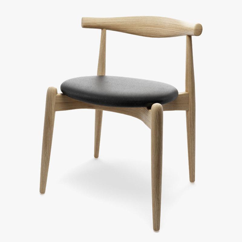 ch20 chair hans j 3d max