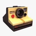 instant camera 3D models