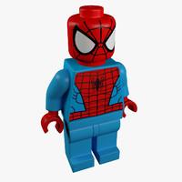 lego figure 3d model