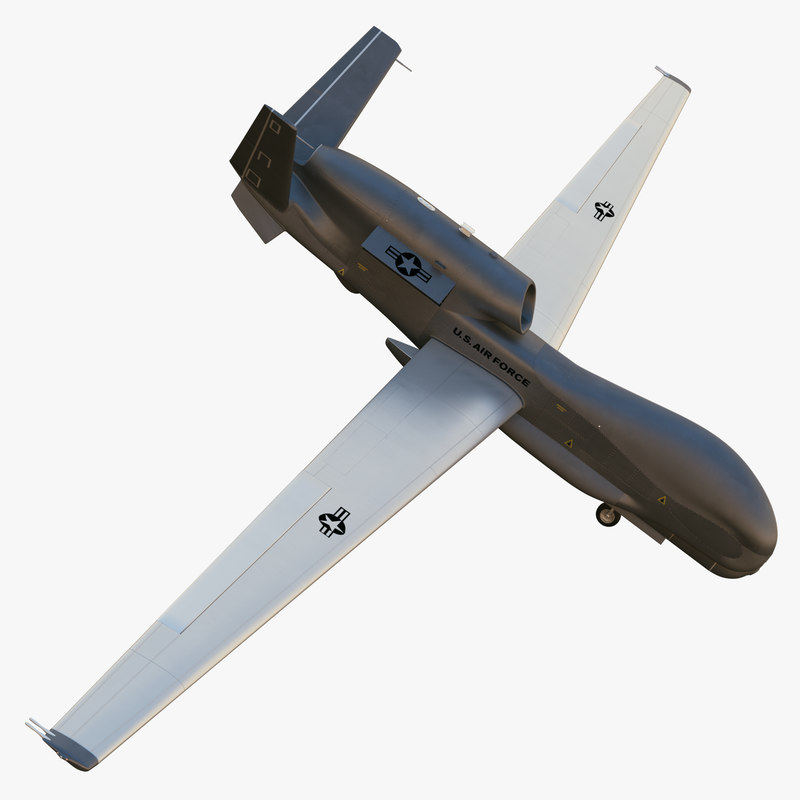 3d model northrop grumman rq-4 global hawk