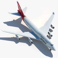 boeing 747 qantas max