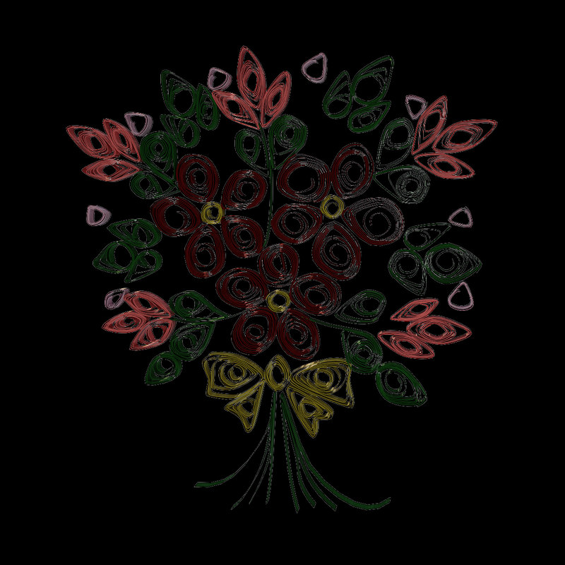 3ds max flowers 01