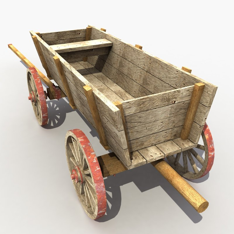 3d old cart 2