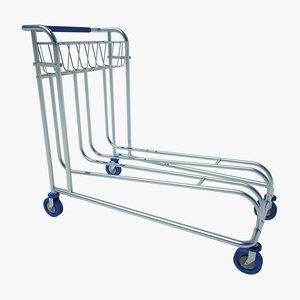 obj airport cart