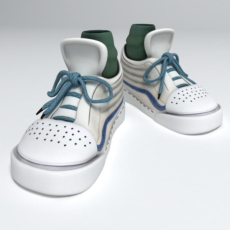 max sneakers cartoons