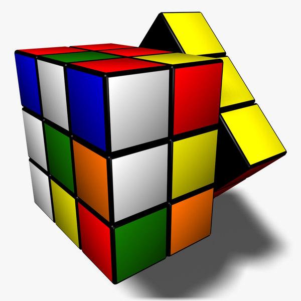 3d rubik s cube animation