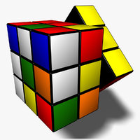 3d rubik s cube animation