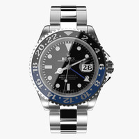Rolex GMT-Master II Blue Black