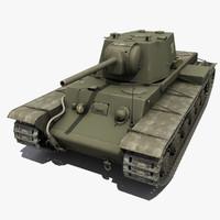 Soviet Tank KV