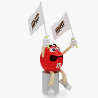 Character M&M'S Red