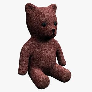 teddy bear fbx
