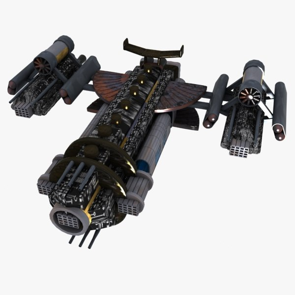 space fighter fi 3d max
