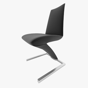 3d chair rolf benz 7800 model