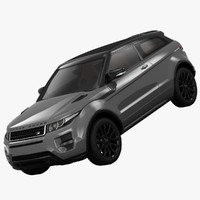 3ds max land rover range evoque