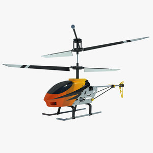 3d 3ds mini helicopter