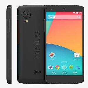 LG Google Nexus 5 Black Smartphone