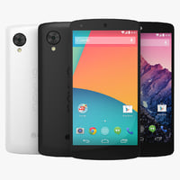 LG Google Nexus 5 Black And White Smartphone