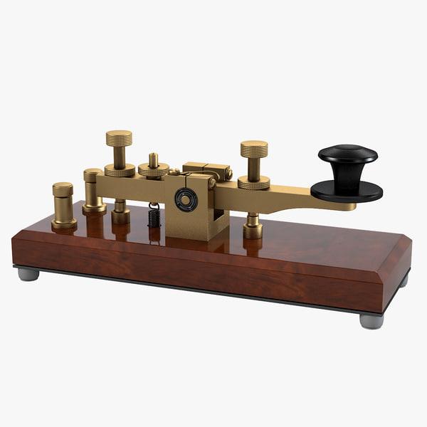 3ds telegraph key