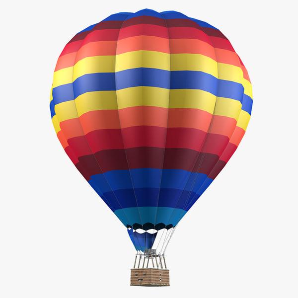 3d air balloon model