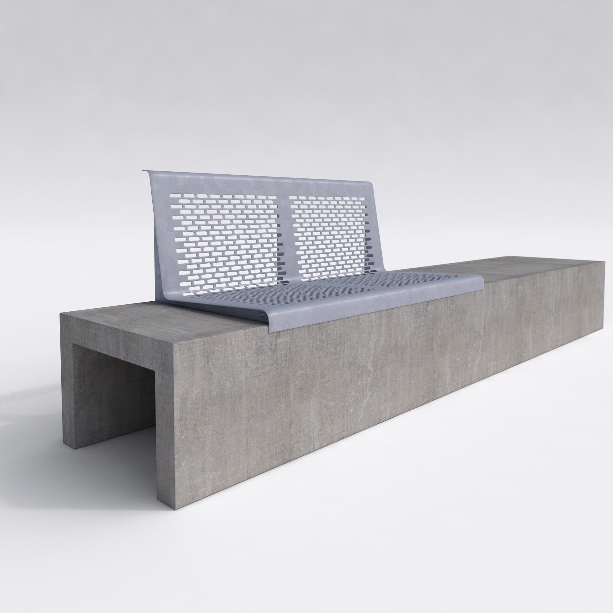 Concrete Outdoor Bench