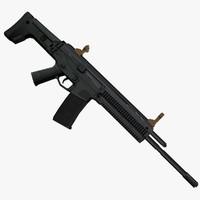 bushmaster rifle 3d max