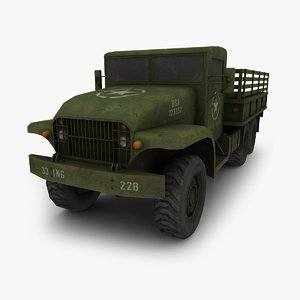 3ds max military truck