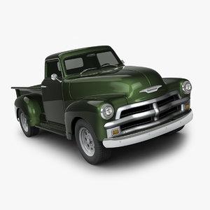 chevrolet truck 19 3d max