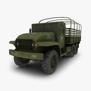 3d military truck