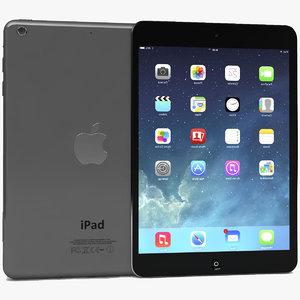 3d apple ipad air mini