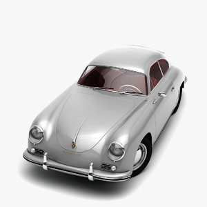 obj porsche 356 engine