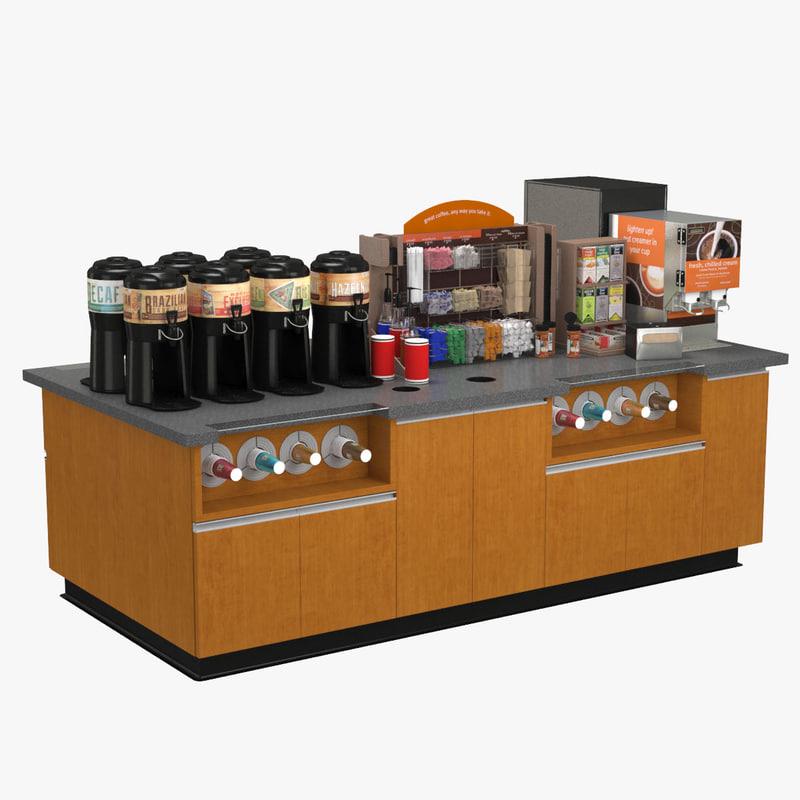 3dsmax coffee station