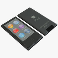 Ipod Nano Generation 7th Black