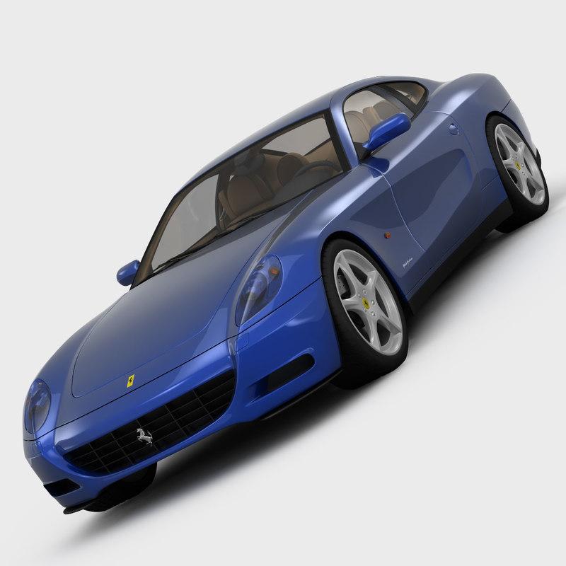 3d Model Ferrari 612 Scaglietti