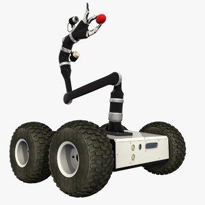 talon robot 3d 3ds