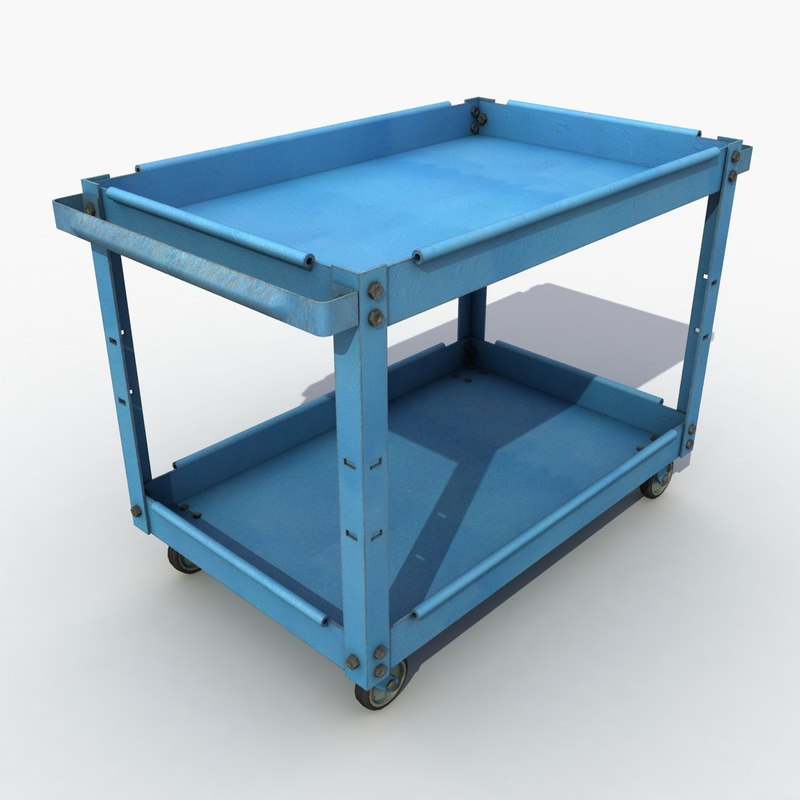 service cart model